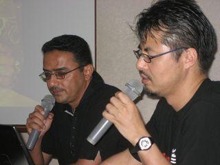 イブラヒムさんと佐藤さん