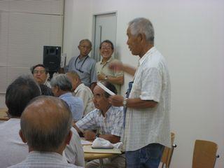 映画「日本の青空」上映会を成功させ 9条の会を準備する集い「開会挨拶」
